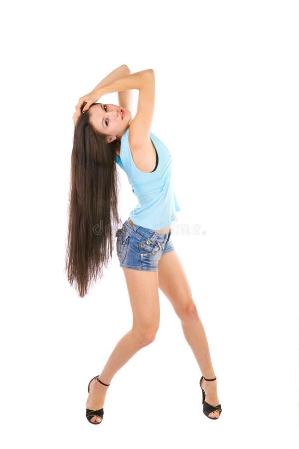 Ballo della ragazza fotografia stock libera da diritti