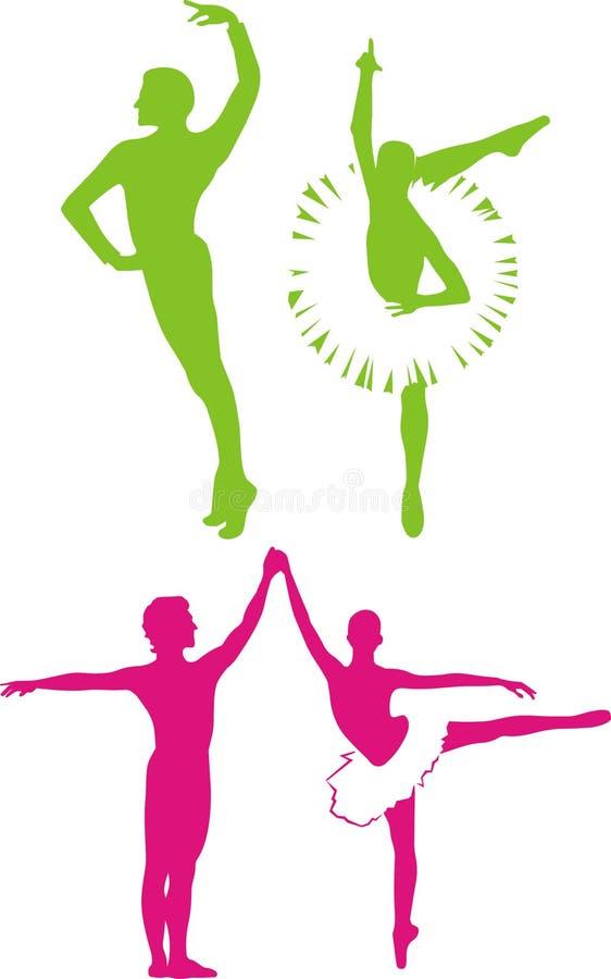 Download Ballo di balletto illustrazione vettoriale. Illustrazione di nero - 7322140
