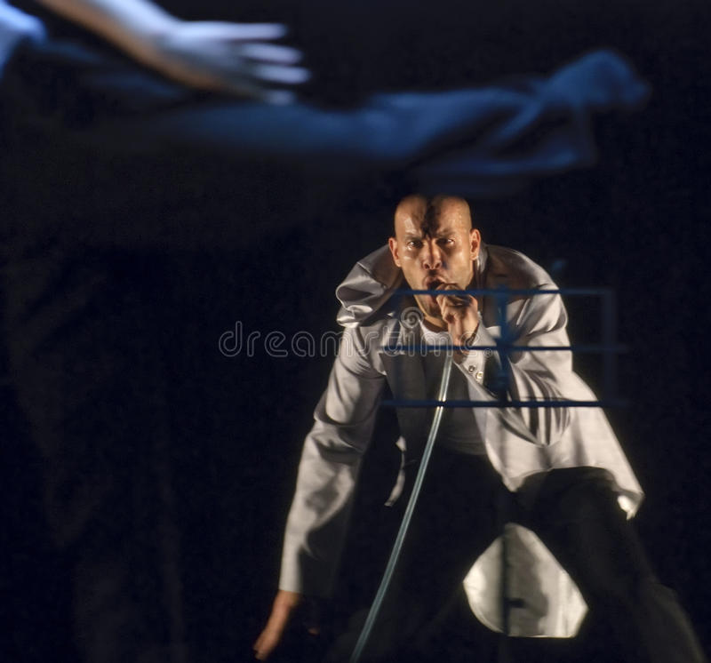 Ballo di Hip-hop dal francese immagine stock