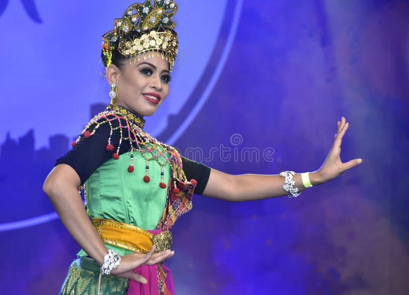 Ballo di Mak Yong fotografia stock