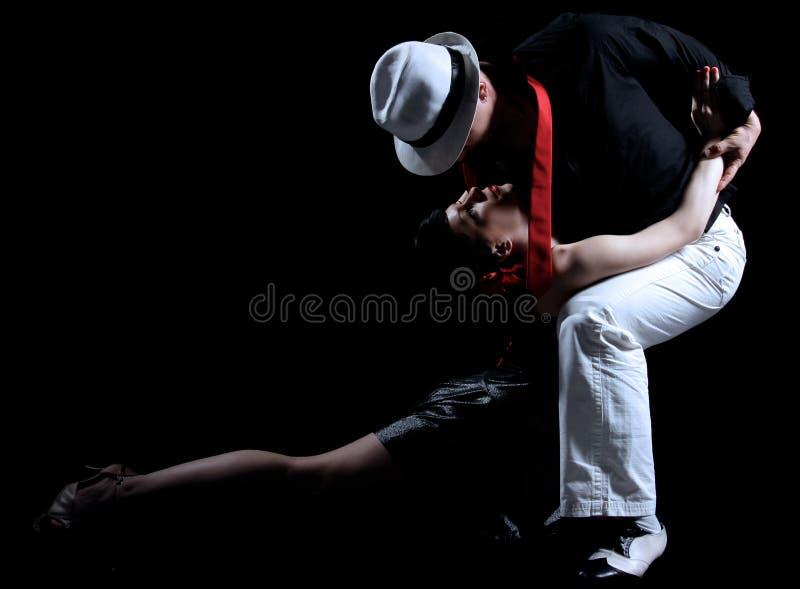 Ballo di tango immagini stock