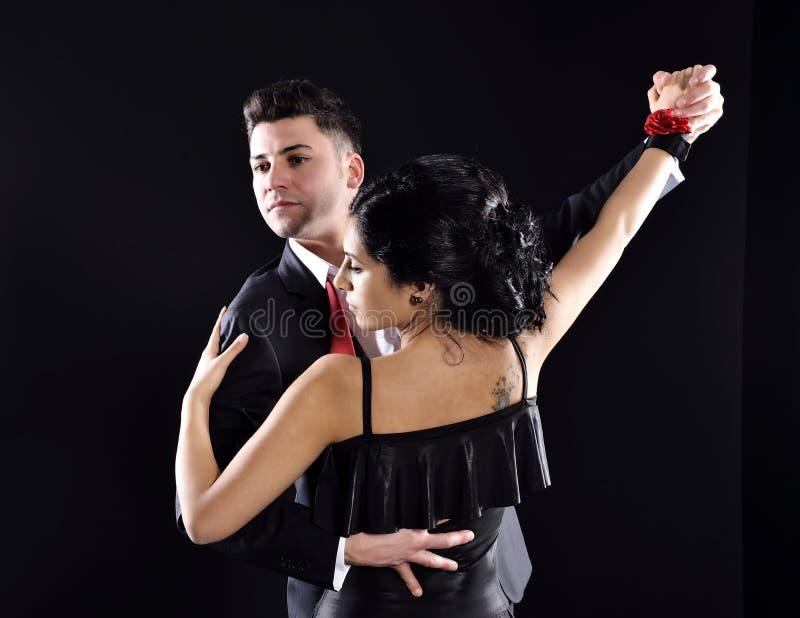 Ballo di tango fotografia stock libera da diritti