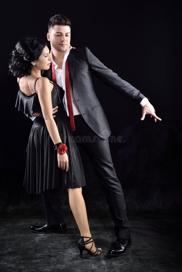 Ballo di tango immagine stock
