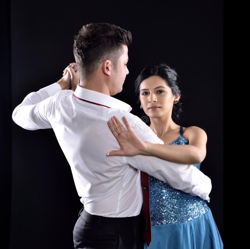 Ballo di tango fotografia stock