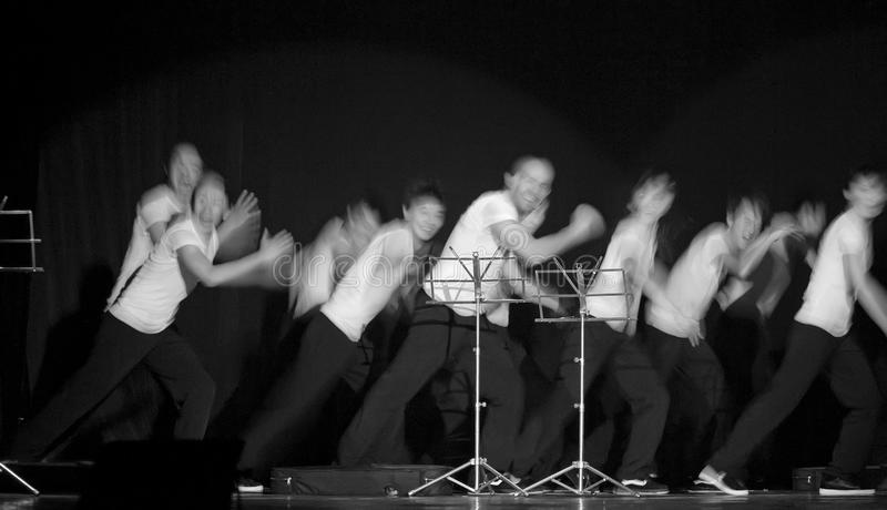 Ballo francese di hip-hop immagini stock