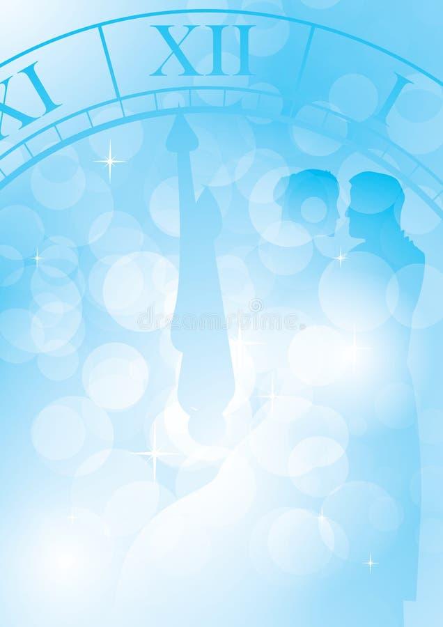 Ballo Midnight illustrazione di stock