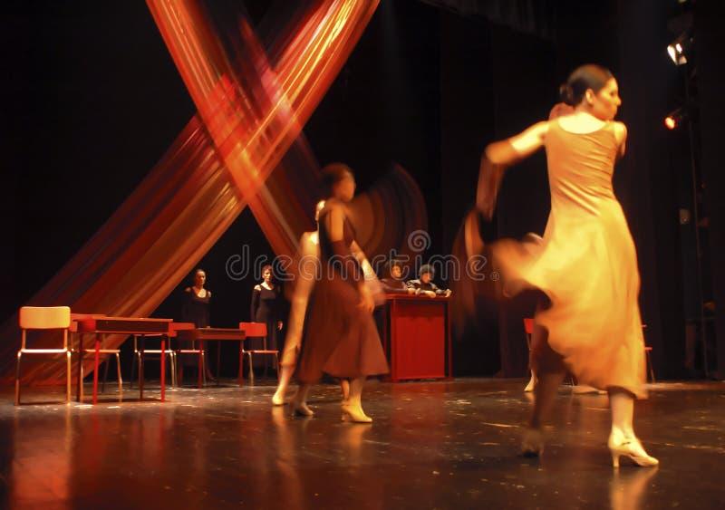 Ballo moderno 3 fotografie stock libere da diritti
