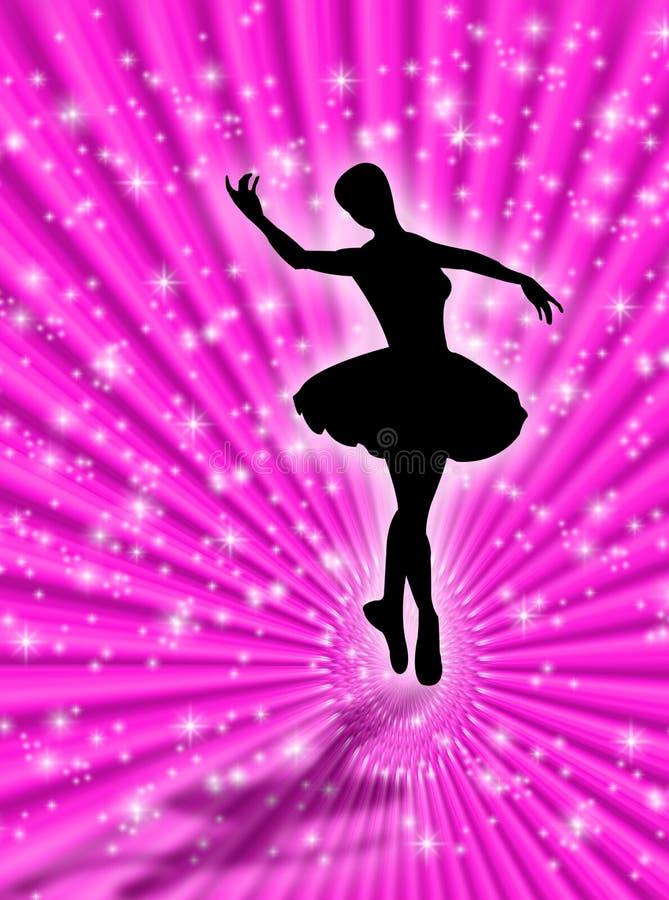 Ballo nelle stelle illustrazione vettoriale