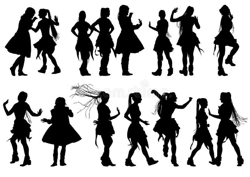 Ballo russo illustrazione vettoriale