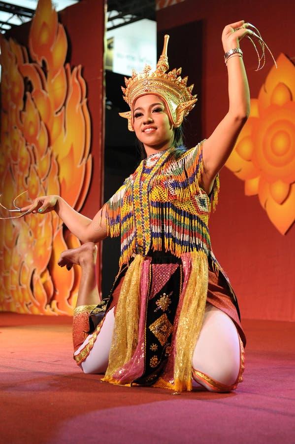 Ballo tailandese tradizionale fotografia stock libera da diritti