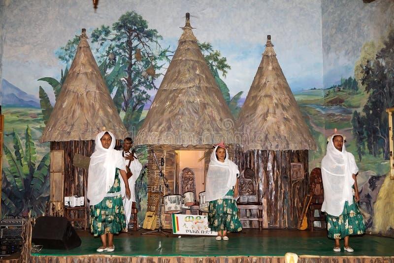 Ballo tradizionale africano fotografia stock