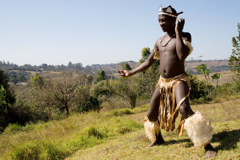 ballo tribale fotografie stock libere da diritti