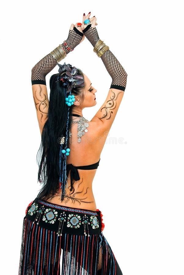 Ballo tribale Mystical fotografia stock libera da diritti