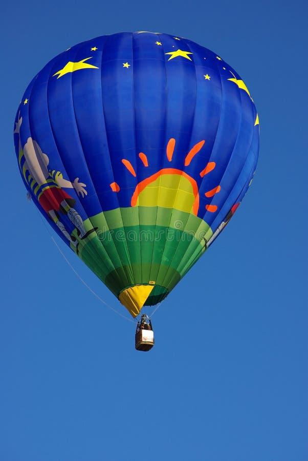 Ballon à air chaud. images stock