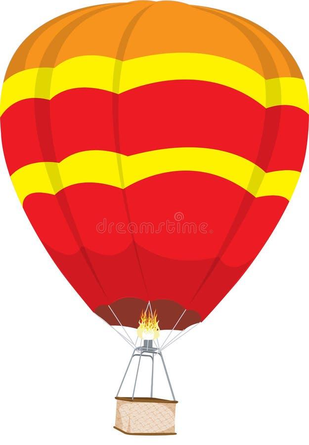 ballon à air chaud illustration libre de droits