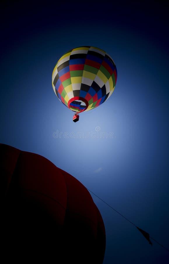 Ballon à air chaud parti de flottement photo libre de droits