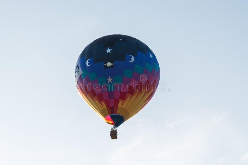 Ballon à air chaud simple photos libres de droits
