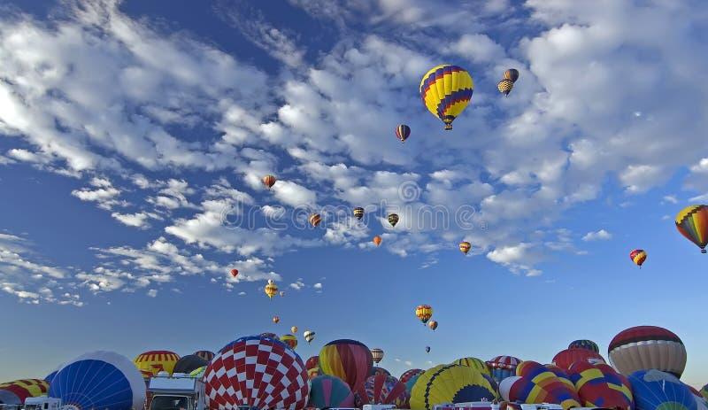 Ballon του Αλμπικέρκη γιορτή στοκ φωτογραφίες με δικαίωμα ελεύθερης χρήσης