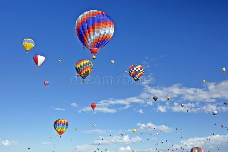 ballon του Αλμπικέρκη γιορτή στοκ εικόνες