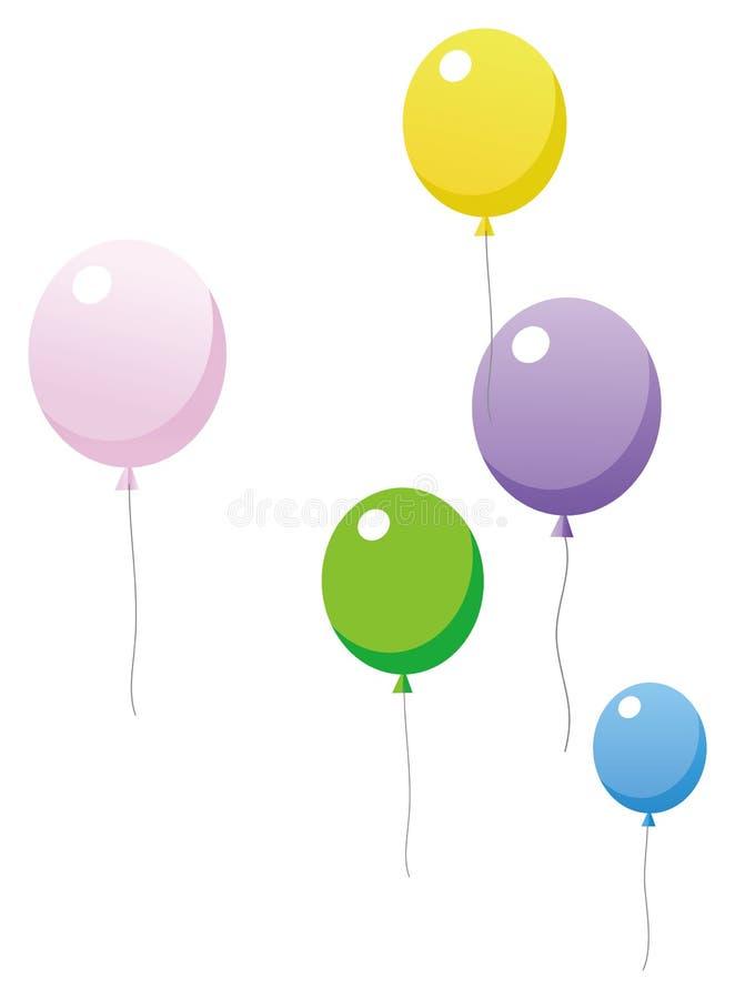 Ballon ilustração do vetor