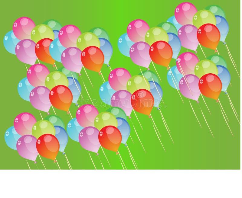 Ballon illustration de vecteur