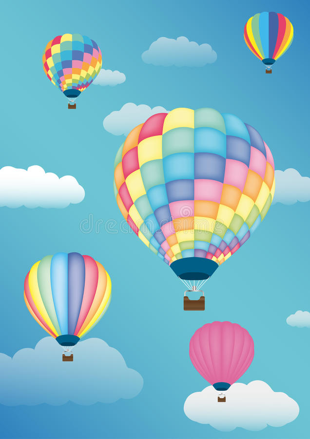 ballon royalty-vrije illustratie