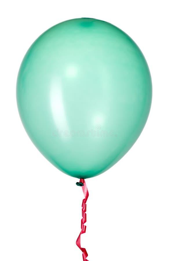 Ballon avec la chaîne de caractères rouge pour la décoration de réception photographie stock libre de droits