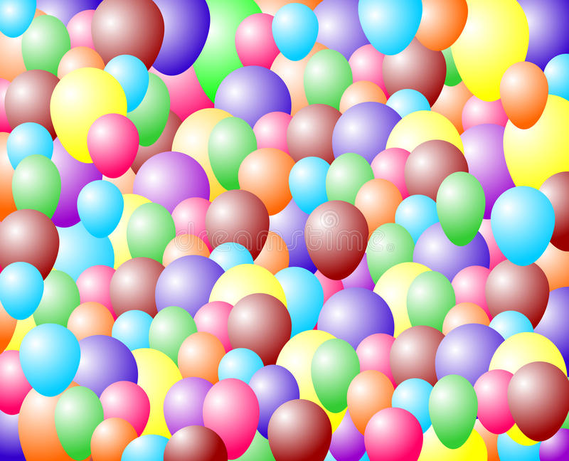 Download Ballon background stock illustration. Illustration of painting - 26738465