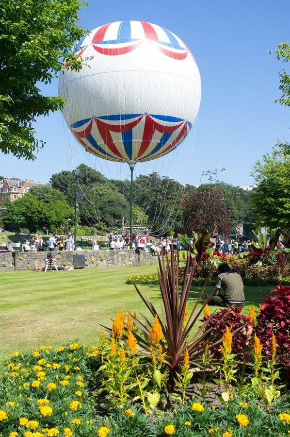 Ballon (Bournemouth, het UK) stock fotografie