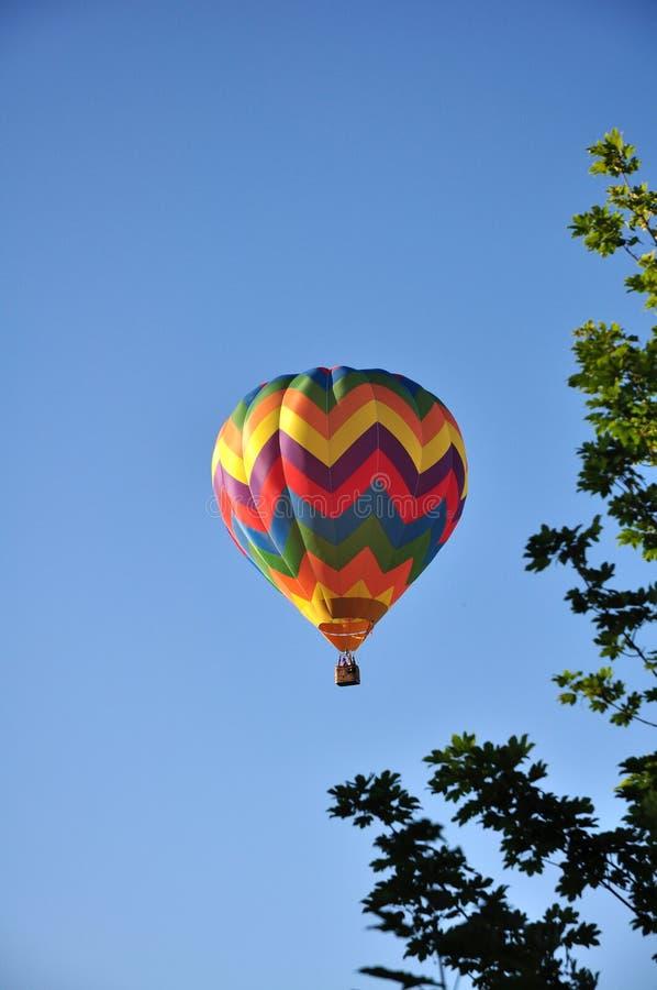 Ballon d'air chaud image stock