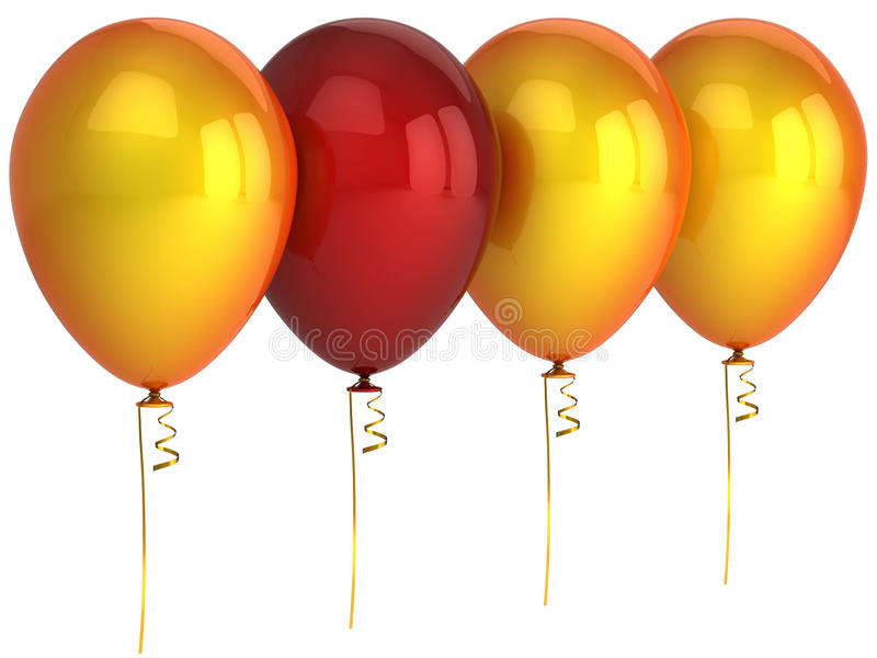 Ballon de conduite illustration libre de droits