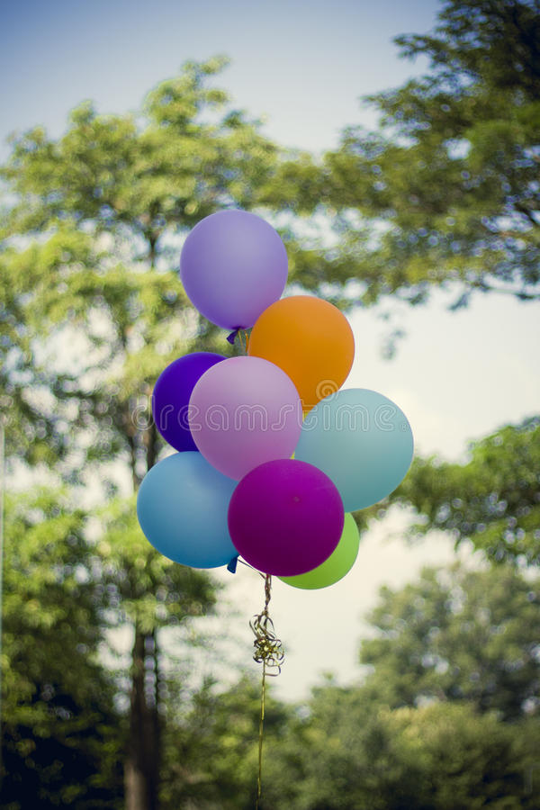 Ballon de félicitations photographie stock libre de droits