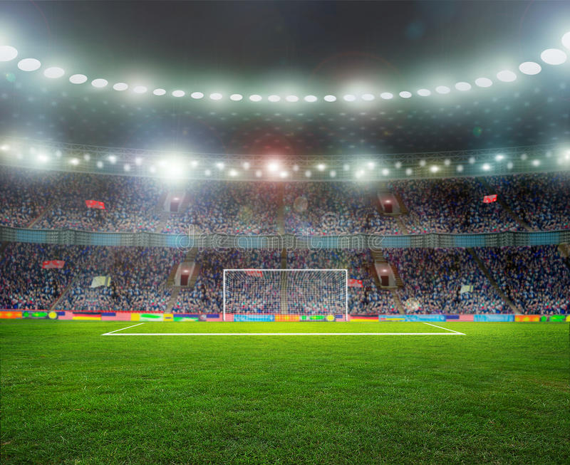 Ballon de football image stock