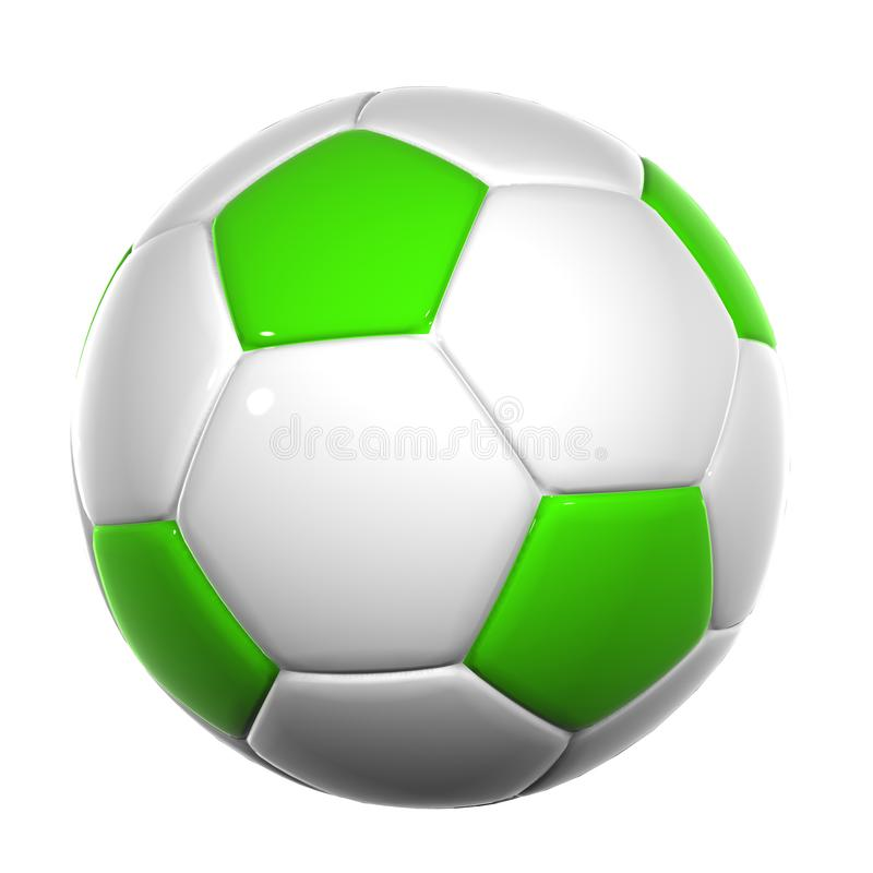 Ballon de football 014 images libres de droits
