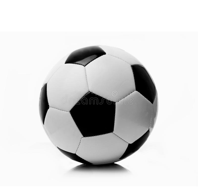 Ballon de football noir et blanc photo stock image 40183974 - Ballon foot noir et blanc ...