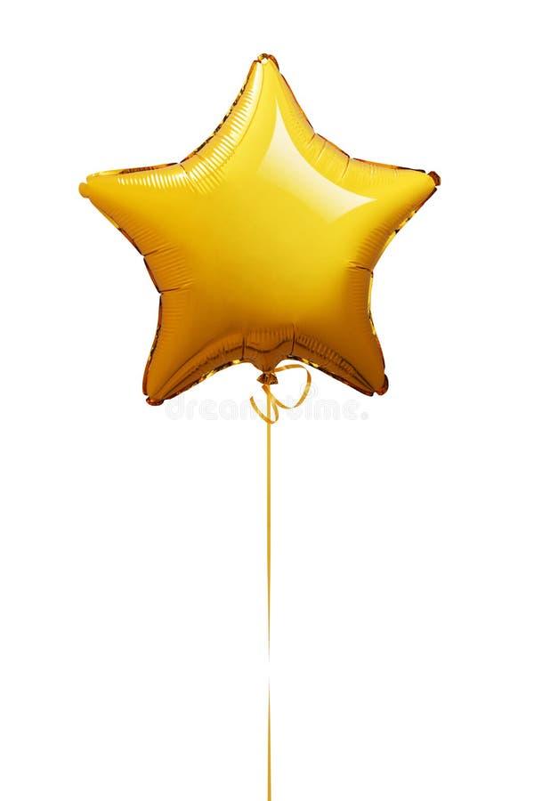 Ballon de forme d'étoile photographie stock libre de droits