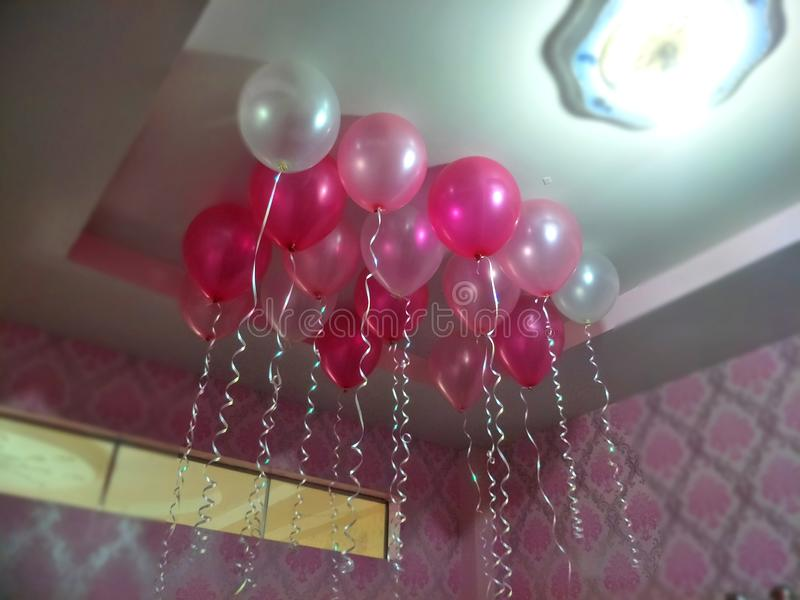 Ballon des Valentinsgrußes lizenzfreie stockfotos