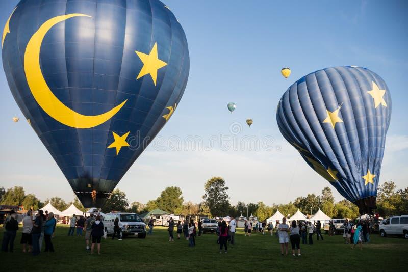 Ballon 2013 et festival du vin de Temecula photo libre de droits