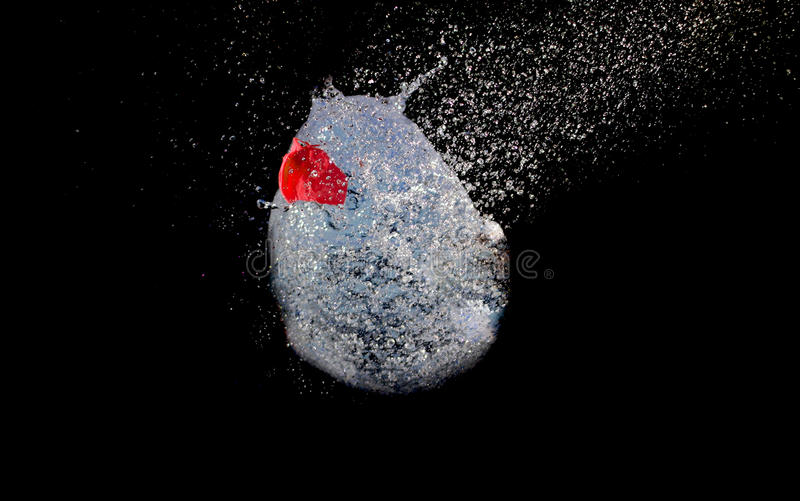 Ballon explosif image stock