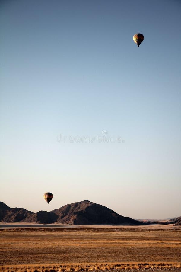 Ballon för Namibia sanddyn royaltyfria bilder