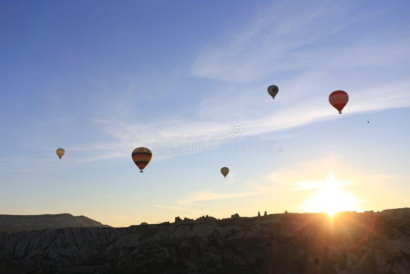 Ballon für sehen das topview lizenzfreies stockbild