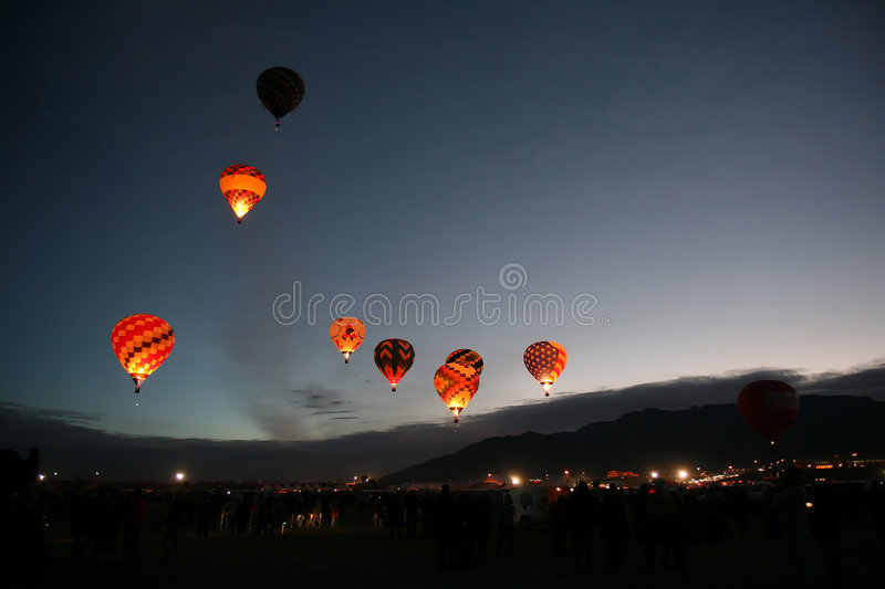 Download Ballon Fiesta 2007 stock image. Image of mexico, fiesta - 3388995
