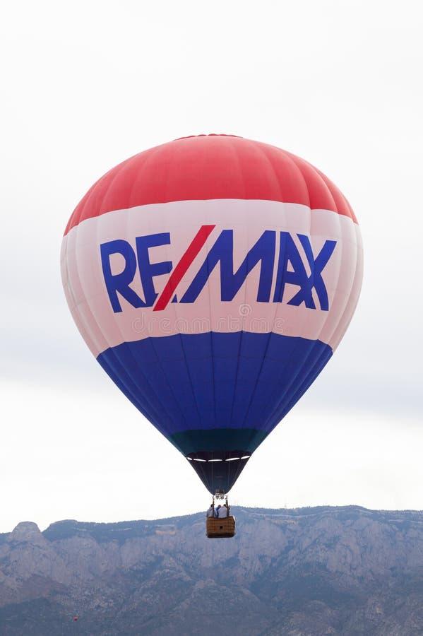 Ballon-Fiesta 2014 stockbild