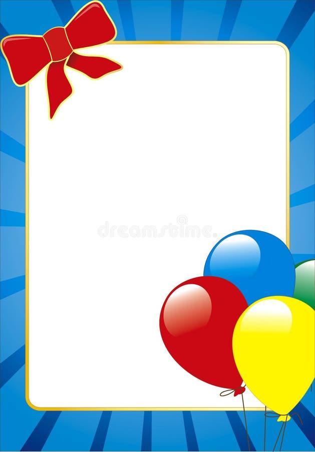Download Ballon On Frame Stock Image - Image: 7918191