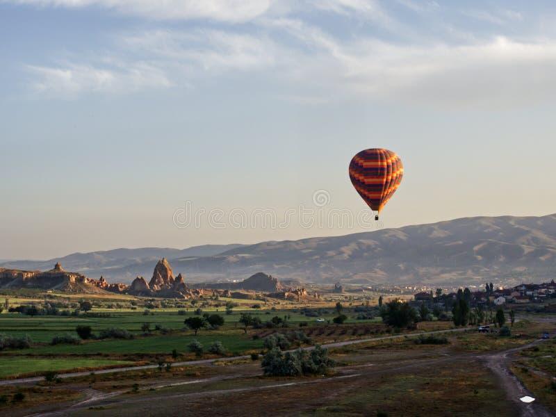 Ballon in Goreme royalty-vrije stock fotografie