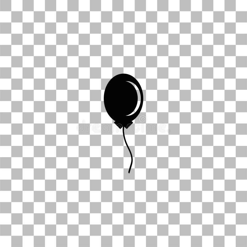 Ballon-Ikone flach lizenzfreie abbildung