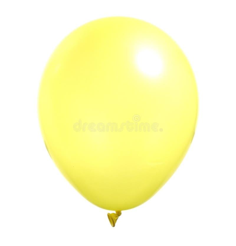 Ballon jaune photo libre de droits