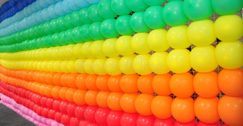 Ballon kleurrijke achtergrond stock foto