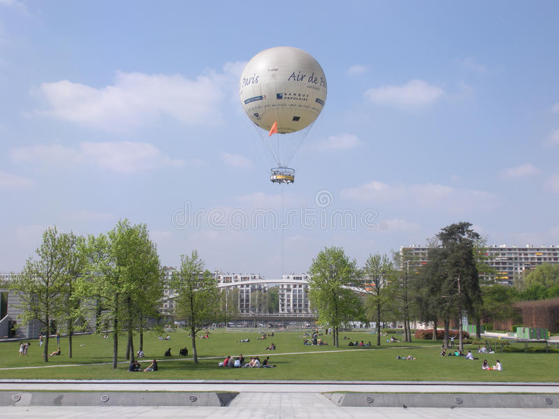 Ballon Lotniczy de Paryż zdjęcie royalty free