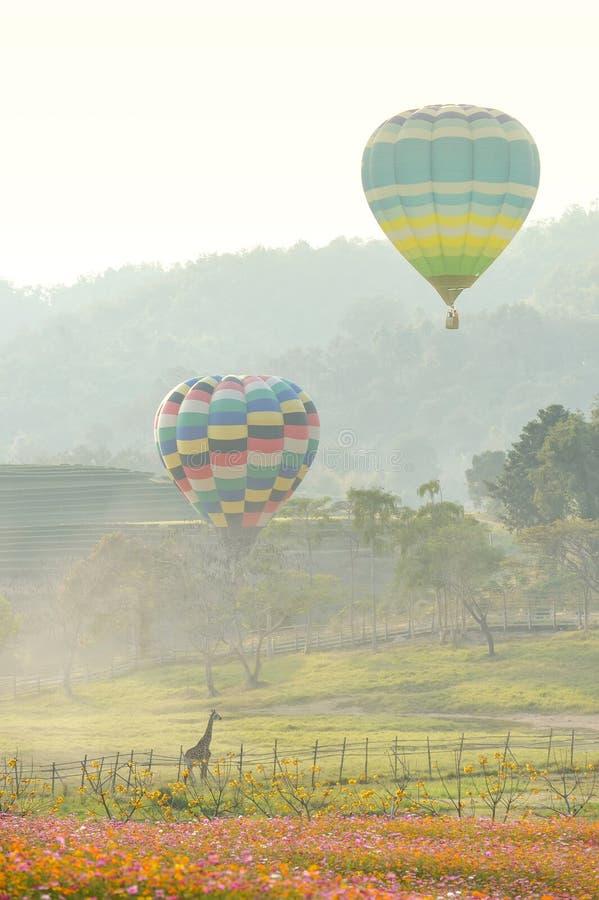 Ballon ou air chaud photographie stock
